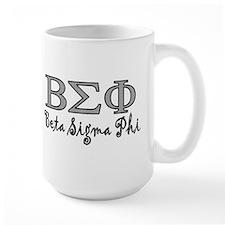 Black Beta Sigma Phi Mug