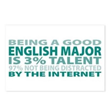 Good English Major Postcards (Package of 8)