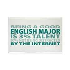Good English Major Rectangle Magnet