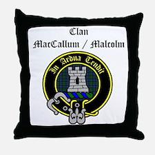 Unique Malcolm Throw Pillow
