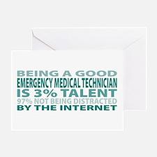 Good Emergency Medical Technician Greeting Card
