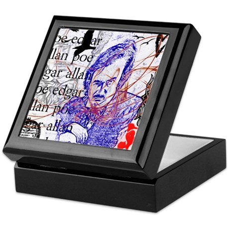 Haunted Poe Keepsake Box