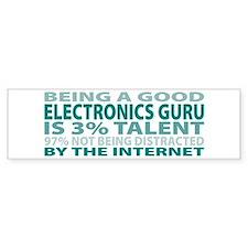 Good Electronics Guru Bumper Bumper Sticker