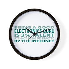 Good Electronics Guru Wall Clock