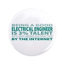 "Good Electrical Engineer 3.5"" Button"