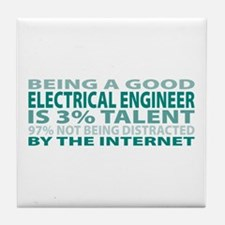 Good Electrical Engineer Tile Coaster