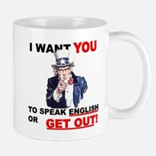Speak English Mug