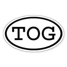 TOG Oval Oval Decal