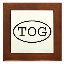 TOG Oval Framed Tile