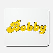Retro Bobby (Gold) Mousepad