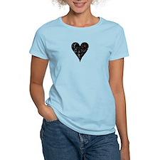 Dead Heart Women's Pink T-Shirt