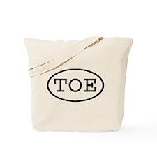 TOE Oval Tote Bag