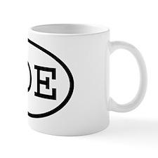 TOE Oval Mug