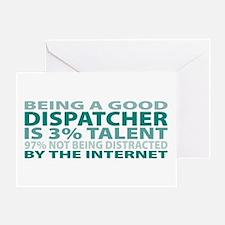 Good Dispatcher Greeting Card