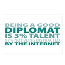 Good Diplomat Postcards (Package of 8)
