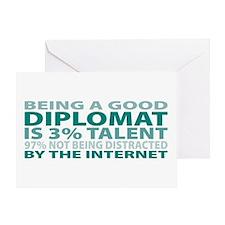 Good Diplomat Greeting Card
