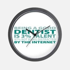 Good Dentist Wall Clock