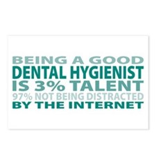 Good Dental Hygienist Postcards (Package of 8)