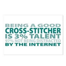 Good Cross-stitcher Postcards (Package of 8)