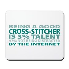 Good Cross-stitcher Mousepad