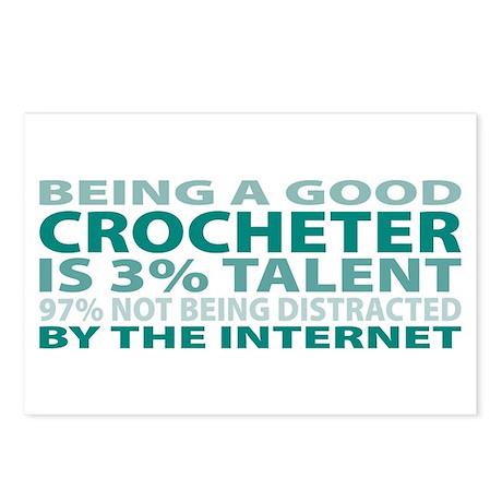 Good Crocheter Postcards (Package of 8)