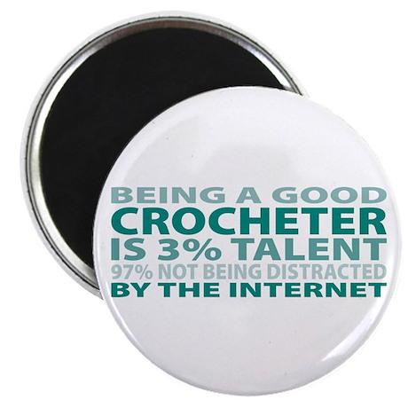Good Crocheter Magnet