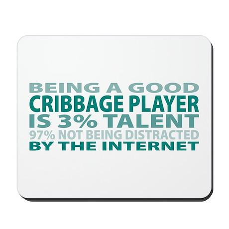 Good Cribbage Player Mousepad