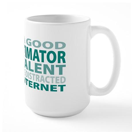 Good Cost Estimator Large Mug