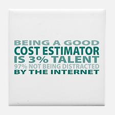 Good Cost Estimator Tile Coaster
