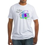 Clothesline Dryer Love Fitted T-Shirt