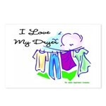 Clothesline Dryer Love Postcards (Package of 8)
