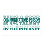 Good Communications Person Postcards (Package of 8