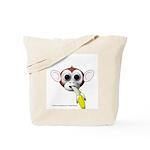 Monkey with Banana Tote Bag