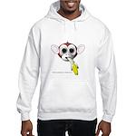 Monkey with Banana Hooded Sweatshirt