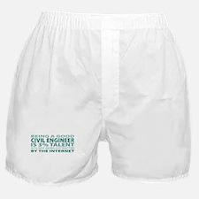 Good Civil Engineer Boxer Shorts