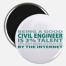 Good Civil Engineer Magnet