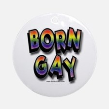 Born Gay Keepsake (Round)