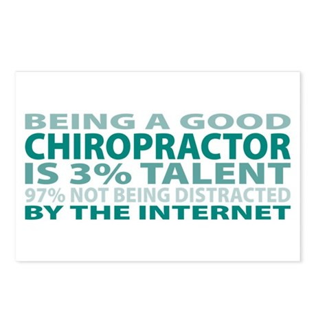 Good Chiropractor Postcards (Package of 8)