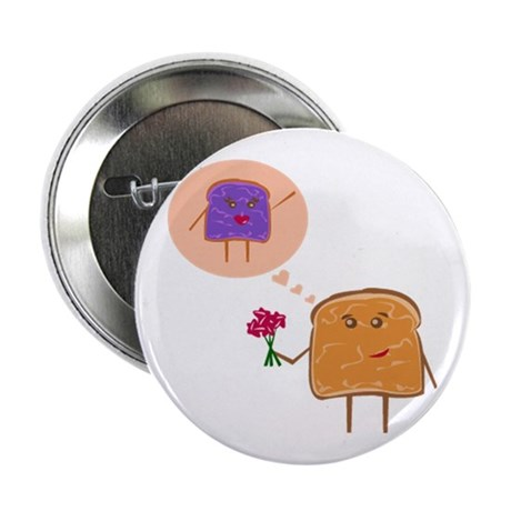 "PBJ love - 2.25"" Button"