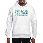 Good Chess Player Hooded Sweatshirt