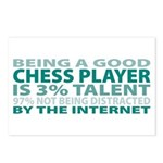 Good Chess Player Postcards (Package of 8)