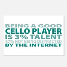 Good Cello Player Postcards (Package of 8)