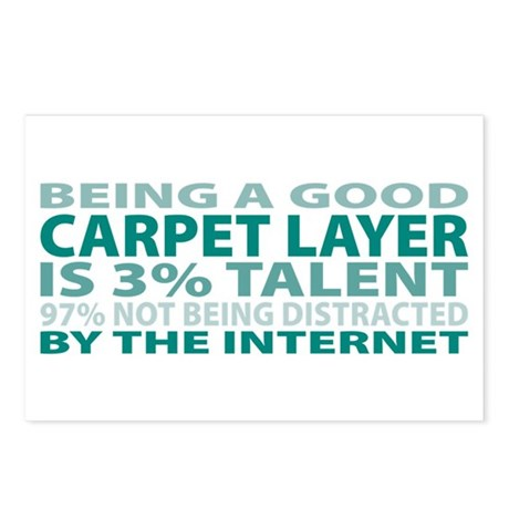 Good Carpet Layer Postcards (Package of 8)