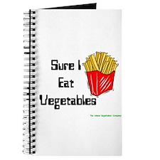 Sure I Eat Vegetables French Journal