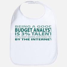 Good Budget Analyst Bib