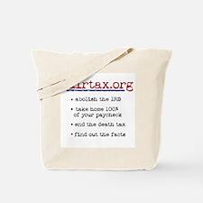 Fair Tax Tote Bag