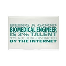 Good Biomedical Engineer Rectangle Magnet