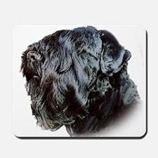 Black Russsian terrier Mousepad