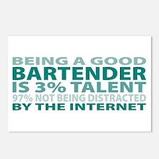 Good Bartender Postcards (Package of 8)