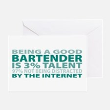 Good Bartender Greeting Card
